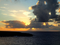 Sunset at Upolu Point