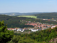 View From Wartburg Castle Grounds