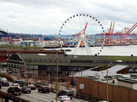 Seattle's New Ferris Wheel