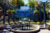 Port Angeles Downtown Fountain
