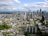 View of Seattle from Space Needle