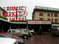 Pike Place Front Entrance