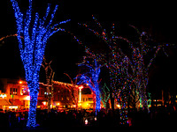 Christmas Lights in Courthouse Square